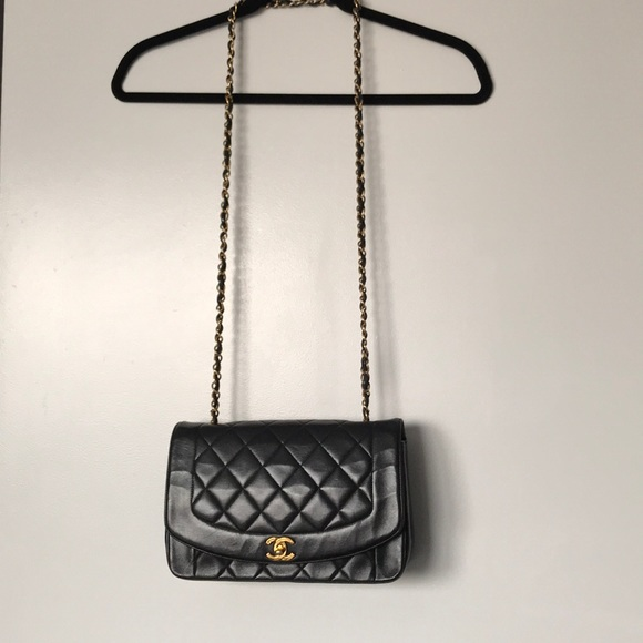 3a41785e10dca5 CHANEL Handbags - Vintage Diana Chanel flap bag-excellent condition